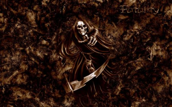 Skeleton In Brown Cloths, Evil Creatures