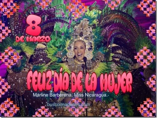 Marline Barberena, Miss Nicaragua.