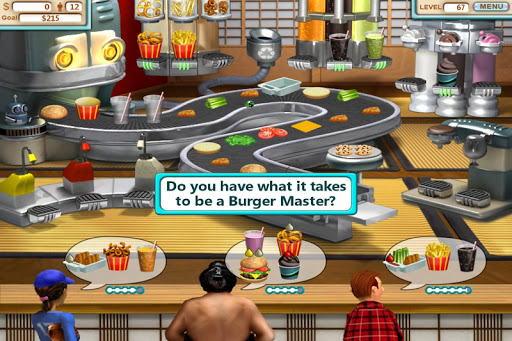 Burger Shop - Free Cooking Game apkpoly screenshots 10