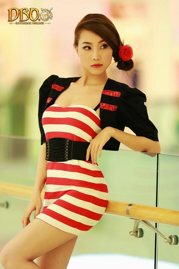 Ngắm bộ ảnh cực đẹp của các hotgirl Daybreak Online 19