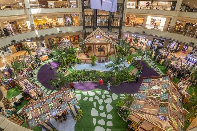 Raikan Riang Ria Raya Di Pusat Membeli-Belah Suria KLCC, Alamanda Putrajaya Dan Mesra Mall Kemaman