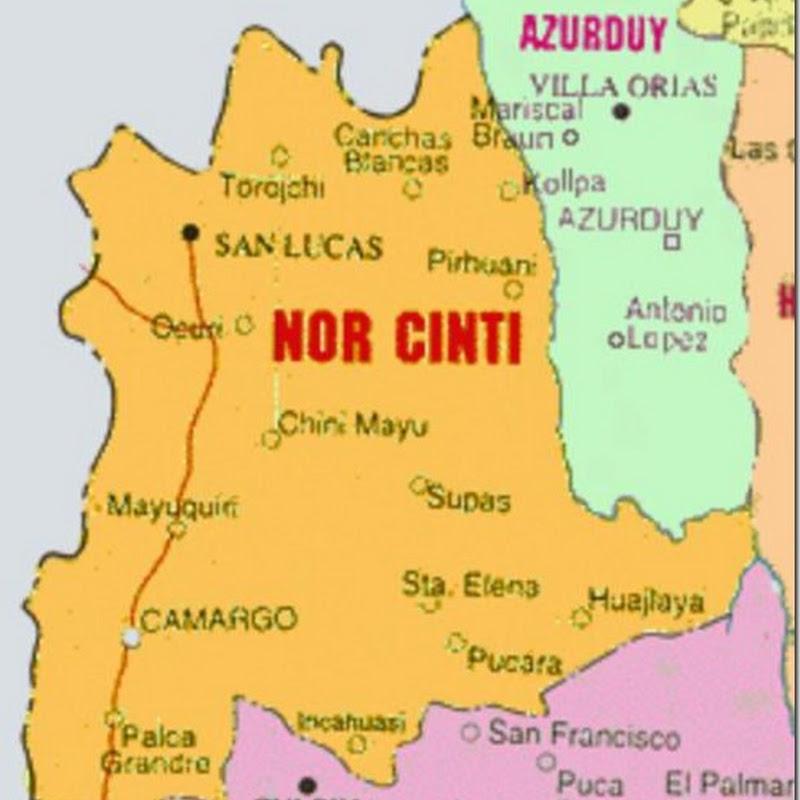 Provincia Nor Cinti: departamento de Chuquisaca, Bolivia