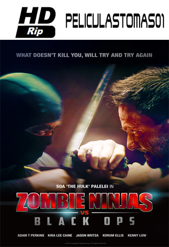 Zombie Ninjas vs Black Ops (2015) HDRip