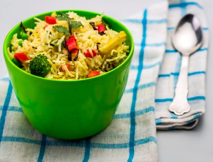 Italian Vegetable Rice Recipe | Breakfast Care