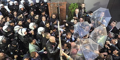 turkish police vs journalists