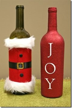 decorar botellas navidad todonavidad info (19)