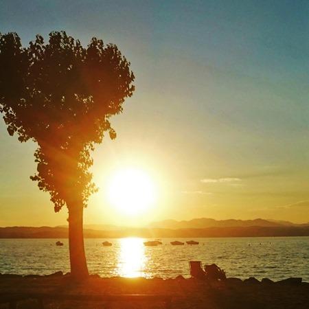ladaridari_campeggio_sdraio al tramonto