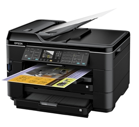 How to reset Epson WorkForce WF-7018 printer