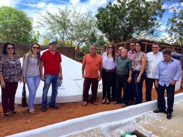 O Semiárido e a Água: Zona rural de Upanema recebe 30 novas cisternas