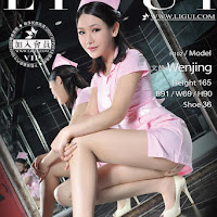 LiGui 2014.01.20 网络丽人 Model 文靜 [38P] cover.jpg