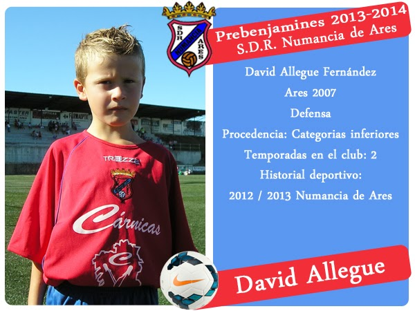 ADR Numancia de Ares. DAVID ALLEGUE