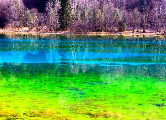 Озеро пяти цветков, Китай(1)