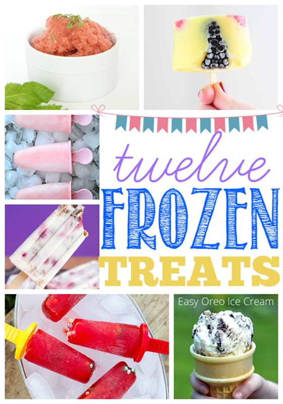 12 Frozen Treats at GingerSnapCrafts.com #frozen #treats [5]
