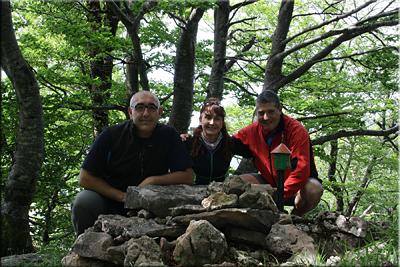 Abitigarra mendiaren gailurra 1.169 m. – 2014ko uztailaren 5ean