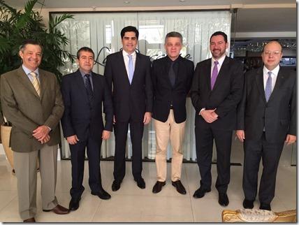 Ministros Dyogo Oliveira e Ronaldo Nogueira em Natal - Foto Divulgação PTB