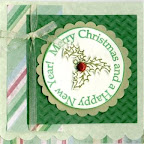 CH0149-F Holly Merry Christmas Design by Connie Vogt