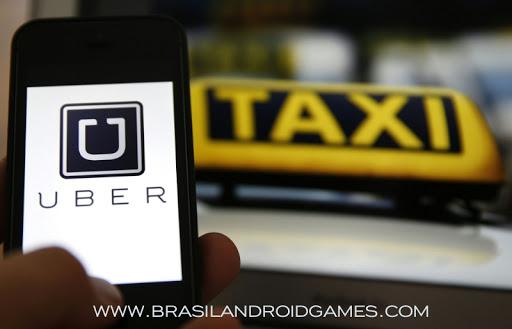 Uber imagem do aplicativo
