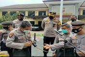 Dit Samapta Polda Jabar Gelar Latihan Catching Net Di Polres Subang