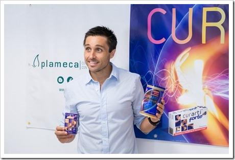 Fernando Belasteguín ficha por Plameca: nueva imagen de la marca de productos para la salud.