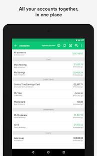 Mint: Finance, Budgets & Money - screenshot thumbnail