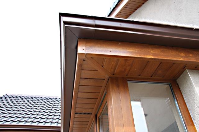 Weathershield Gutters Wicklow Wood Effect Fascia