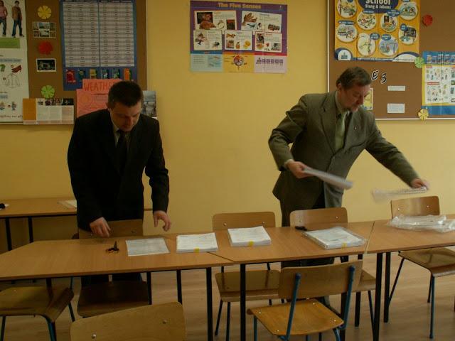 Pierwszy egzamin gimnazjalny w ZS nr 2 w Dukli 2011 - PICT1363_1.JPG