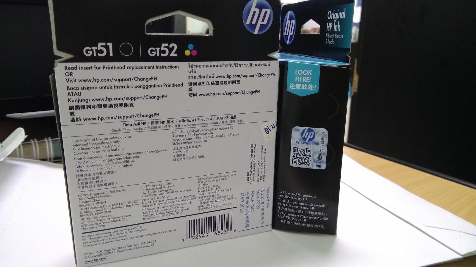 PrintHead HP GT 5810/5820   JUAL Printer HP   Harga Murah