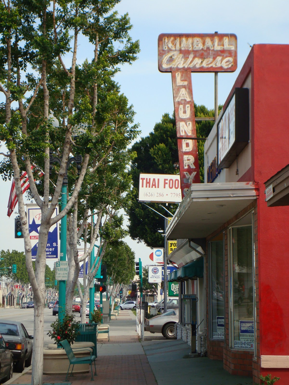 A Chinese Laundry in Temple City, Cal  - Los Angeles Revisited