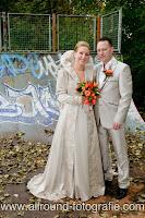 Bruidsreportage (Trouwfotograaf) - Foto van bruidspaar - 125