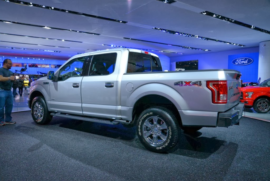 2015 Ford F-150 Unveiling NAIAS 12