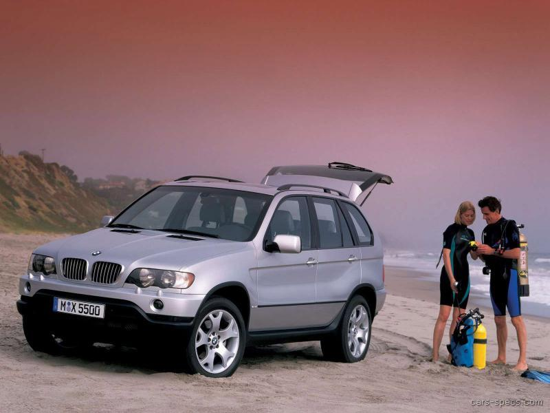 2003 BMW X5 SUV Specifications, Pictures, Prices