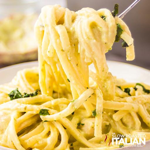 Pesto Chicken  Pasta Recipe (Instant Pot)