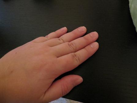 shortest finger nails since 7th grade piano