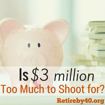 Is $3 million Too Much to Shoot for?