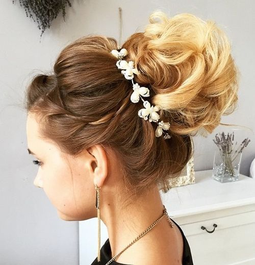 Top Smart Wedding Hair Updos In Current Year For Brides 2017-2018 16