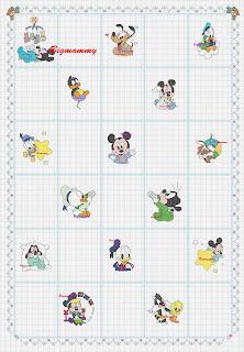 Schemi Disney A Punto Croce