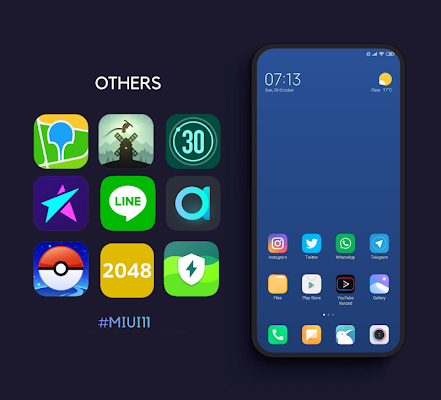 MIUI 11 Icon Pack - Pro Screenshot Image