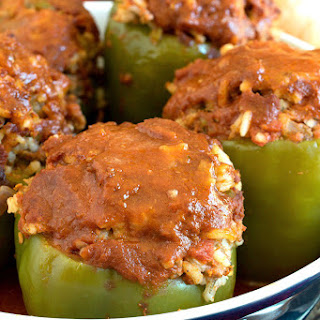 Classic Stuffed Peppers.