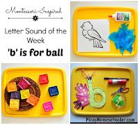 Letter 'b' Sound Activities