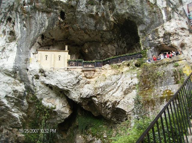 Santuario de Covadonga, Asturias, Espanha