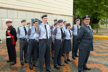 Air Cadets, Armed Forces Day in Birmingham