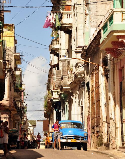 Havana, Cuba: November 2, 2011 - Mile 6440