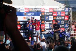 Trophy ceremony.