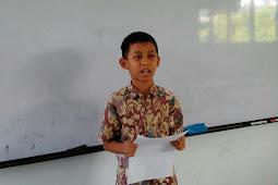 Pidato Sambutan Ketua Panitia dalam Rangka HUT Sekolah
