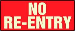 no reentry