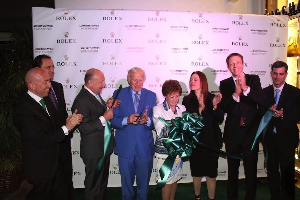 Rolex Miami Boutique Luxury Swiss LLC Ribbon Cutting 14