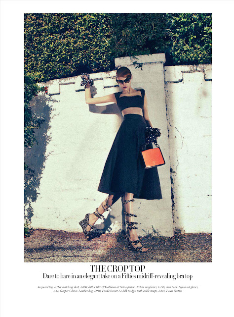 The Collections - Haper's Bazaar UK - febrero 2012