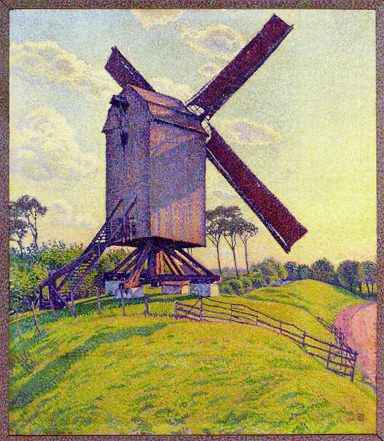 Theo van Rysselberghe - The Mill at Kelf