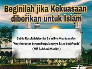Beginilah Jika Kekuasaan Diberikan untuk Islam