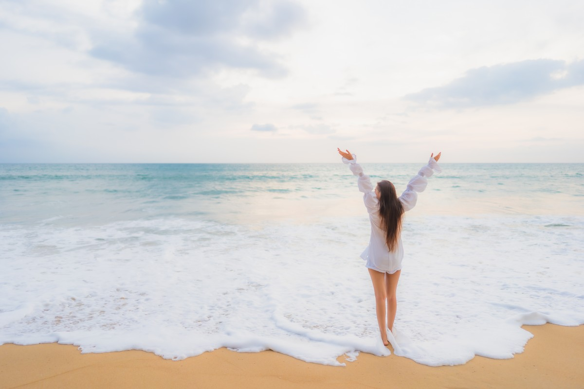 beauty+and+the+beach, active, back, beach, beautiful, beauty, carefree, celebrate, celebration, coast, dawn, enjoyment, evening, female, free, freedom, fun, girl, happiness, happy, holiday, horizon, joy, life, lifestyle, motion, nature, ocean, outdoor, outdoors, person, relaxation, sea, shore, silhouette, sky, summer, sun, sundown, sunlight, sunrise, sunset, travel, tropical, vacation, vitality, water, woman, women, young, photograph, wave, sand, leg, photography, bikini, wind wave, cloud, coastal and oceanic landforms, swimwear, photo shoot, long hair, tourism, barefoot, tide